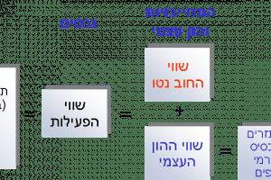 קשרי גומלין בהערכות שווי בין תזרים ממונף ללא ממונף
